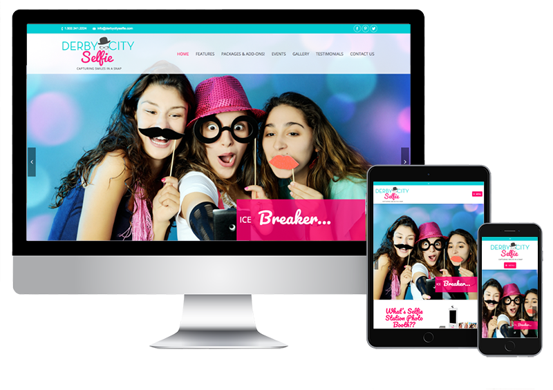 Open Air Photobooth Website Design